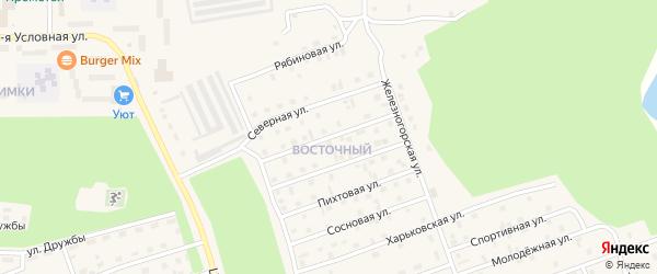 Полтавская улица на карте Восточного микрорайона с номерами домов