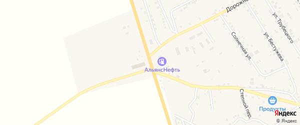 Километр 18 на карте территории Александровского тракта Иркутской области с номерами домов