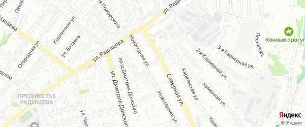 Бирюсинская улица на карте Иркутска с номерами домов