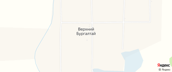 Местечко Верхний Центр на карте улуса Верхнего Бургалтая с номерами домов