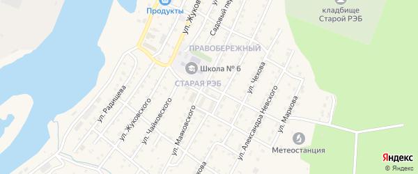 Улица Шерстяникова на карте Усть-Кута с номерами домов