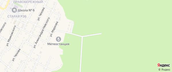 Улица Ивана Красноштанова на карте Усть-Кута с номерами домов