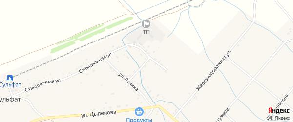 Оросительная улица на карте Тохой улуса с номерами домов