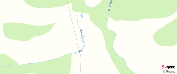 Местность Хухэ Зурхэн на карте улуса Хурамша с номерами домов