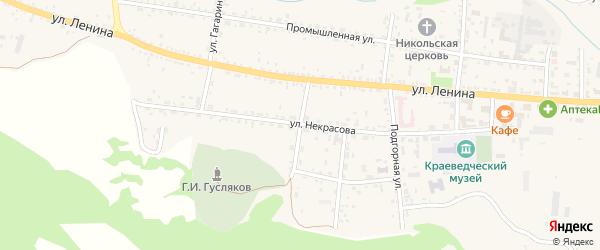 Народная улица на карте села Тарбагатая с номерами домов