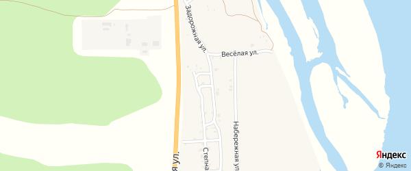 Просторная улица на карте села Сотниково с номерами домов