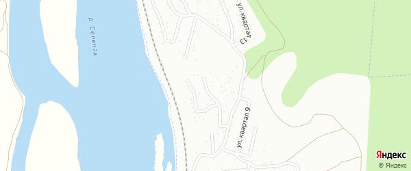 Улица 11-я (ДНТ Современник) на карте Улан-Удэ с номерами домов