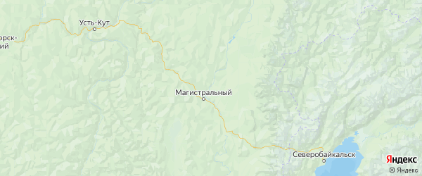 Карта Казачинско-ленского района Иркутской области с городами и населенными пунктами