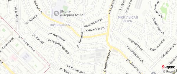 Лысогорская улица на карте Улан-Удэ с номерами домов