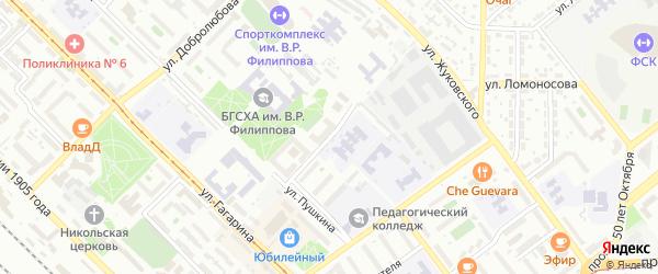 Улица Пржевальского на карте Улан-Удэ с номерами домов