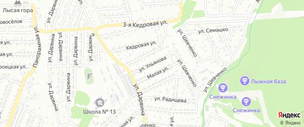 Улица Ульянова на карте Улан-Удэ с номерами домов