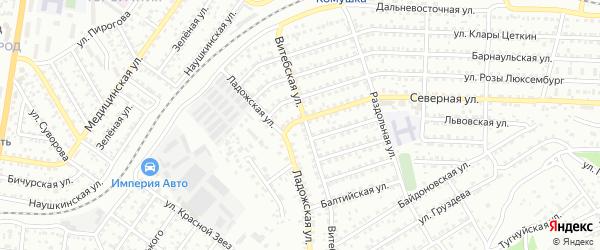 Улица Северная проезд 2 на карте Улан-Удэ с номерами домов