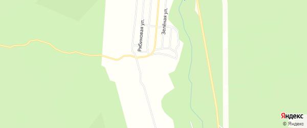 Дачное некоммерческое партнерство ДНТ Ручеек на карте Николаевского поселка Бурятии с номерами домов