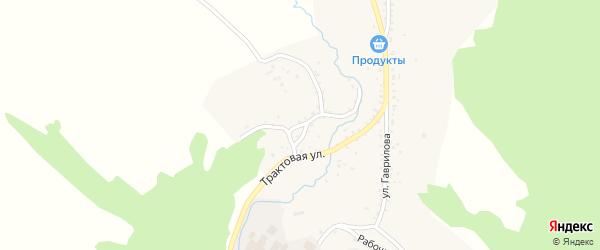 Нагорная улица на карте Николаевского поселка Бурятии с номерами домов