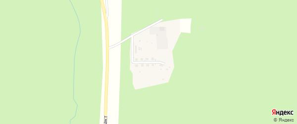 Улица Щебеночный карьер на карте Николаевского поселка Бурятии с номерами домов