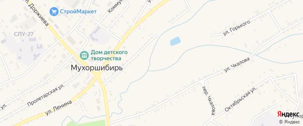 Берёзовая улица на карте села Мухоршибири с номерами домов