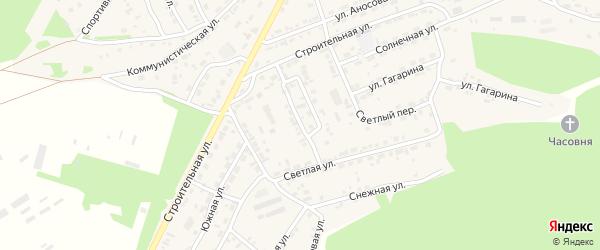 Улица Космонавтов на карте поселка Заиграево с номерами домов