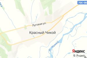 Карта с. Красный Чикой