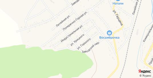 Улица Урицкого в Петровске-Забайкальском с номерами домов на карте. Спутник и схема онлайн