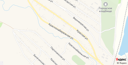 Краснонабережная улица в Петровске-Забайкальском с номерами домов на карте. Спутник и схема онлайн
