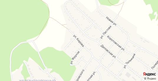 Улица Кирова в Петровске-Забайкальском с номерами домов на карте. Спутник и схема онлайн