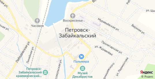 Почтовая улица в Петровске-Забайкальском с номерами домов на карте. Спутник и схема онлайн