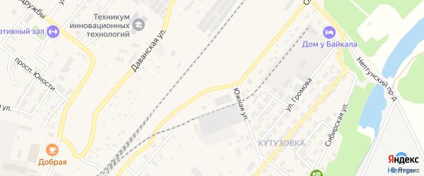 Ольхонская улица на карте Северобайкальска с номерами домов