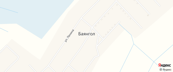 Лесная улица на карте улуса Баянгла с номерами домов
