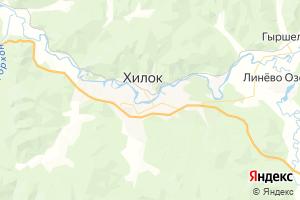 Карта г. Хилок Забайкальский край
