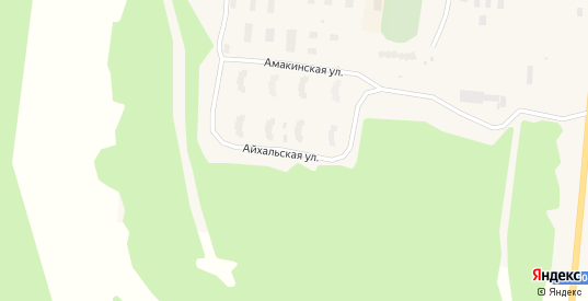Айхальская улица в Удачном с номерами домов на карте. Спутник и схема онлайн