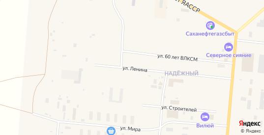 Улица Мира в Удачном с номерами домов на карте. Спутник и схема онлайн