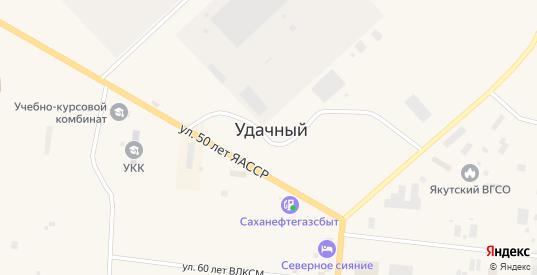 Улица Ленина в Удачном с номерами домов на карте. Спутник и схема онлайн