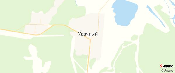 Карта Удачного с районами, улицами и номерами домов