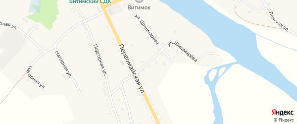 Кооперативная улица на карте села Романовки Бурятии с номерами домов