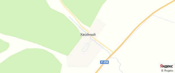 Карта Хвойного поселка в Забайкальском крае с улицами и номерами домов