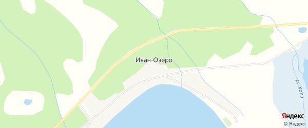 Карта села Ивана-Озеро в Забайкальском крае с улицами и номерами домов