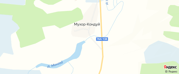 Дачное некоммерческое партнерство Серебряный ручей на карте Читинского района Забайкальского края с номерами домов