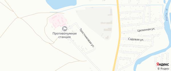 Тростниковая улица на карте Читы с номерами домов