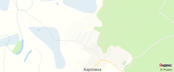 Территория ДНТ Меркурий на карте Читинского района Забайкальского края с номерами домов