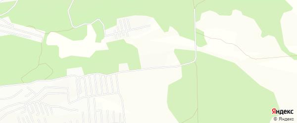 Карта территории ДНТ Электрона в Забайкальском крае с улицами и номерами домов