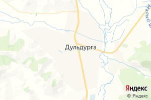 Карта с. Дульдурга Забайкальский край