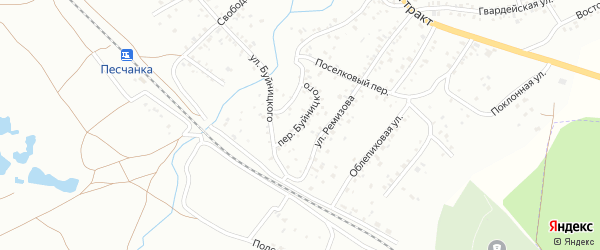 Переулок Буйницкого на карте Читы с номерами домов