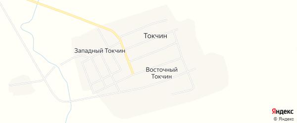 Карта села Токчина в Забайкальском крае с улицами и номерами домов