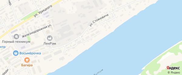 Набережная улица на карте Бодайбо с номерами домов