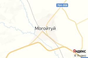 Карта пос. Могойтуй Забайкальский край