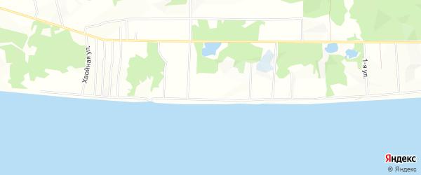 Садовое товарищество СОТ Энергетик 1 на карте Ленского улуса Якутии с номерами домов