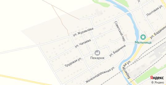 Улица Чапаева в Шилке с номерами домов на карте. Спутник и схема онлайн