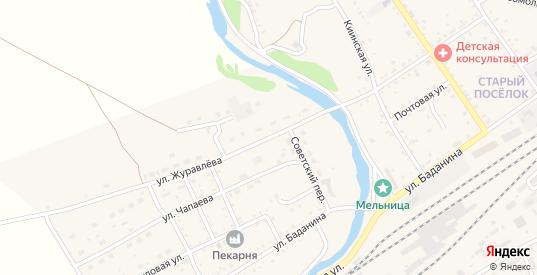 Улица Журавлева в Шилке с номерами домов на карте. Спутник и схема онлайн