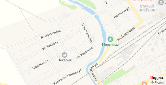 Трудовой переулок в Шилке с номерами домов на карте. Спутник и схема онлайн