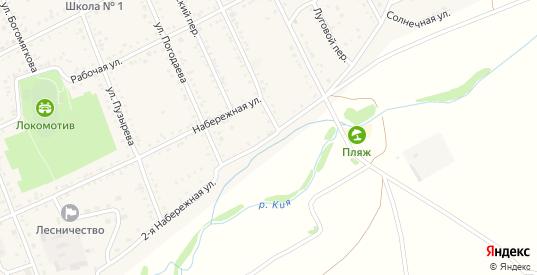 2-я Набережная улица в Шилке с номерами домов на карте. Спутник и схема онлайн